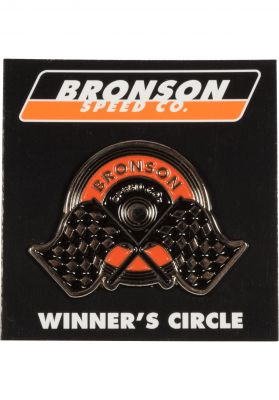 Bronson Speed Co. Winner Circle Pin