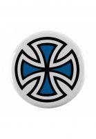 independent-verschiedenes-cross-pin-blue-vorderansicht