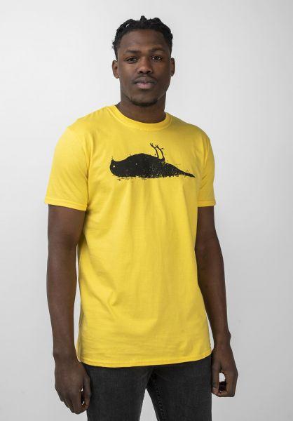 Atticus T-Shirts Bird daisyyellow vorderansicht 0370254