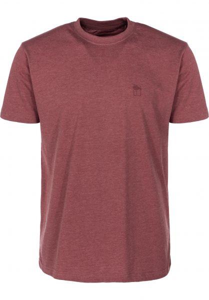 Mahagony T-Shirts Small T.O.L red vorderansicht 0399468