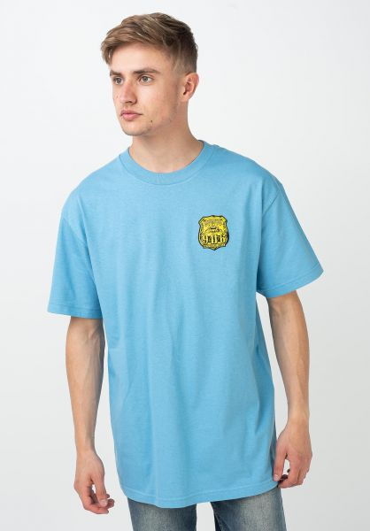 DC Shoes T-Shirts Philly 5 O bonnie-blue vorderansicht 0321374