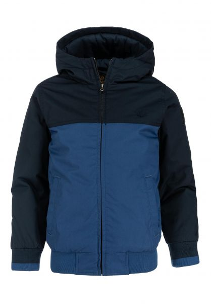 Element Winterjacken Dulcey 2 Tones Kids truenavy vorderansicht 0250135