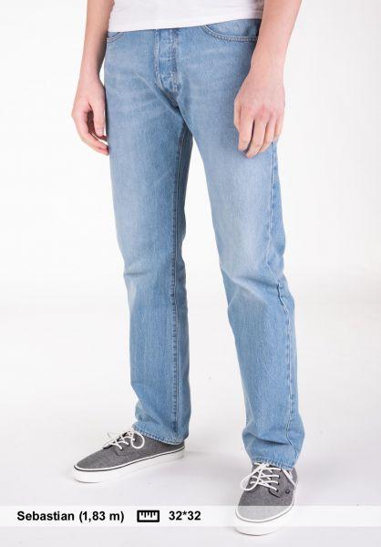 Levis Skate Jeans 501 Original sage vorderansicht 0227134