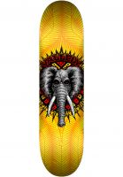 powell-peralta-skateboard-decks-vallely-elephant-birch-yellow-vorderansicht-0262830