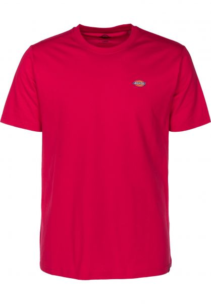 ed9e15bef8 Dickies T-Shirts Stockdale rose-pink Vorderansicht