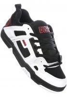 DVS Alle Schuhe Comanche black-white-red Vorderansicht