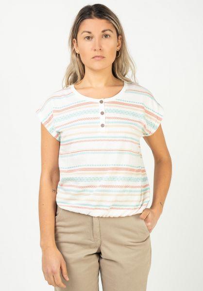 iriedaily T-Shirts Caipini Crop offwhite vorderansicht 0322908