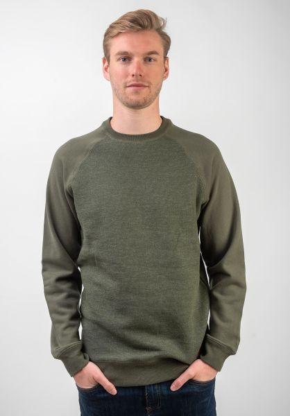 Billabong Sweatshirts und Pullover Balance Crew pine vorderansicht 0421976