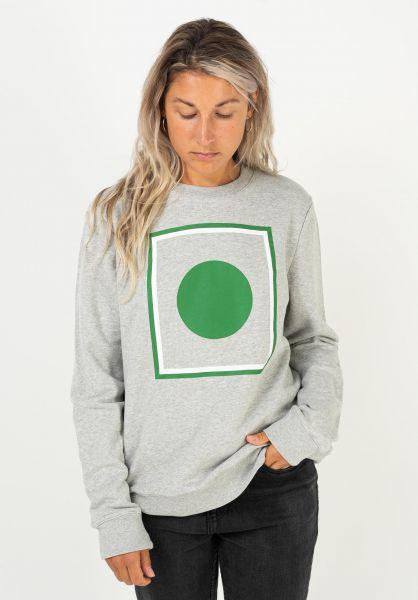 Forvert Sweatshirts und Pullover Point greymelange vorderansicht 0422905