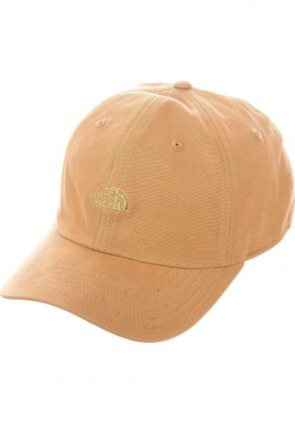 The North Face Caps Washed Norm hat utilitybrown vorderansicht 0566571
