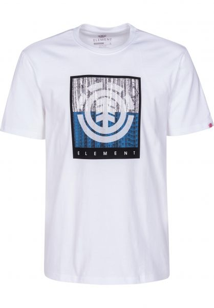 Element T-Shirts Density opticwhite vorderansicht 0399804