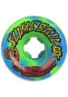 santa-cruz-rollen-slime-balls-vomits-97a-blue-green-vorderansicht-0133139