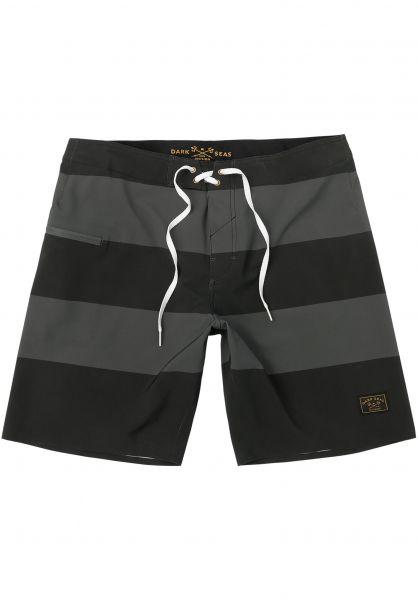 Dark Seas Beachwear Overtide gunmetal vorderansicht 0205271