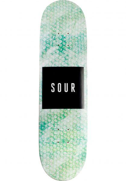 Sour Skateboards Skateboard Decks Bubble Wrap green vorderansicht 0263596