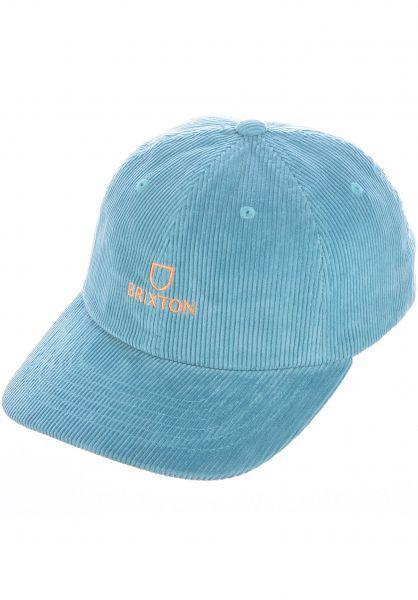 Brixton Caps Alpha LP ocean-cord vorderansicht 0566760