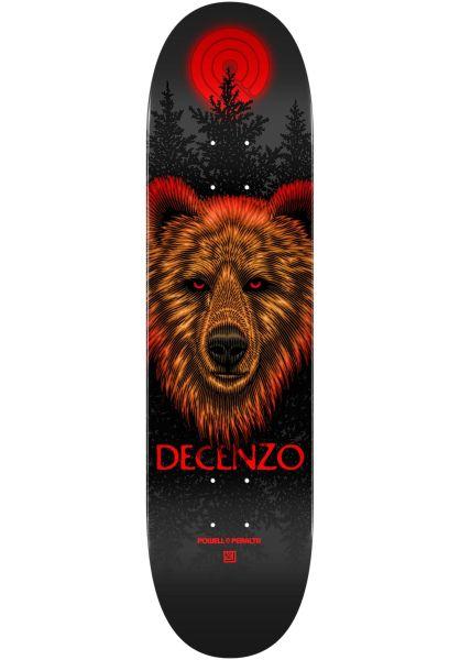 Powell-Peralta Skateboard Decks Scott Decenzo Bear Popsicle red vorderansicht 0263973