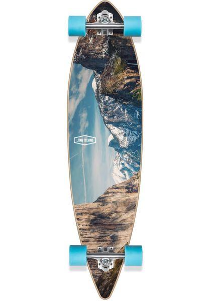 "Long Island Longboards komplett Breath Essential Pintail 41"" multicolored vorderansicht 0194385"