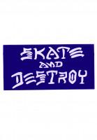 Thrasher-Verschiedenes-Skate-and-Destroy-Medium-Sticker-blue-Vorderansicht