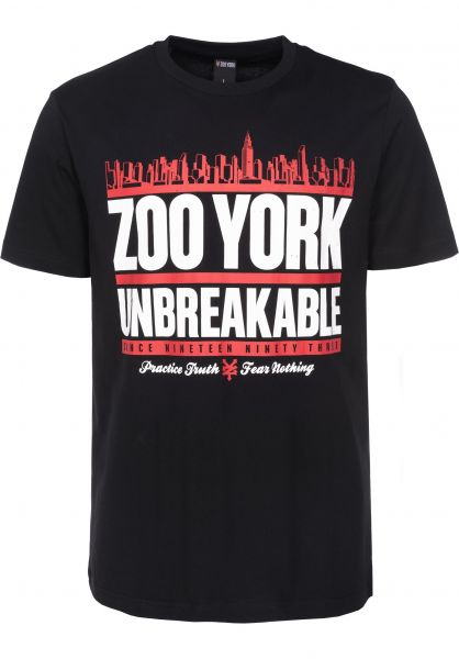 Zoo York T-Shirts Run DMZoo black Vorderansicht