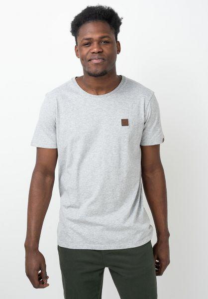 Ragwear T-Shirts Nedie lightgrey vorderansicht 0321607