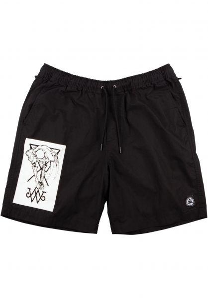 Welcome Sweatshorts Soft Core black-white vorderansicht 0551837