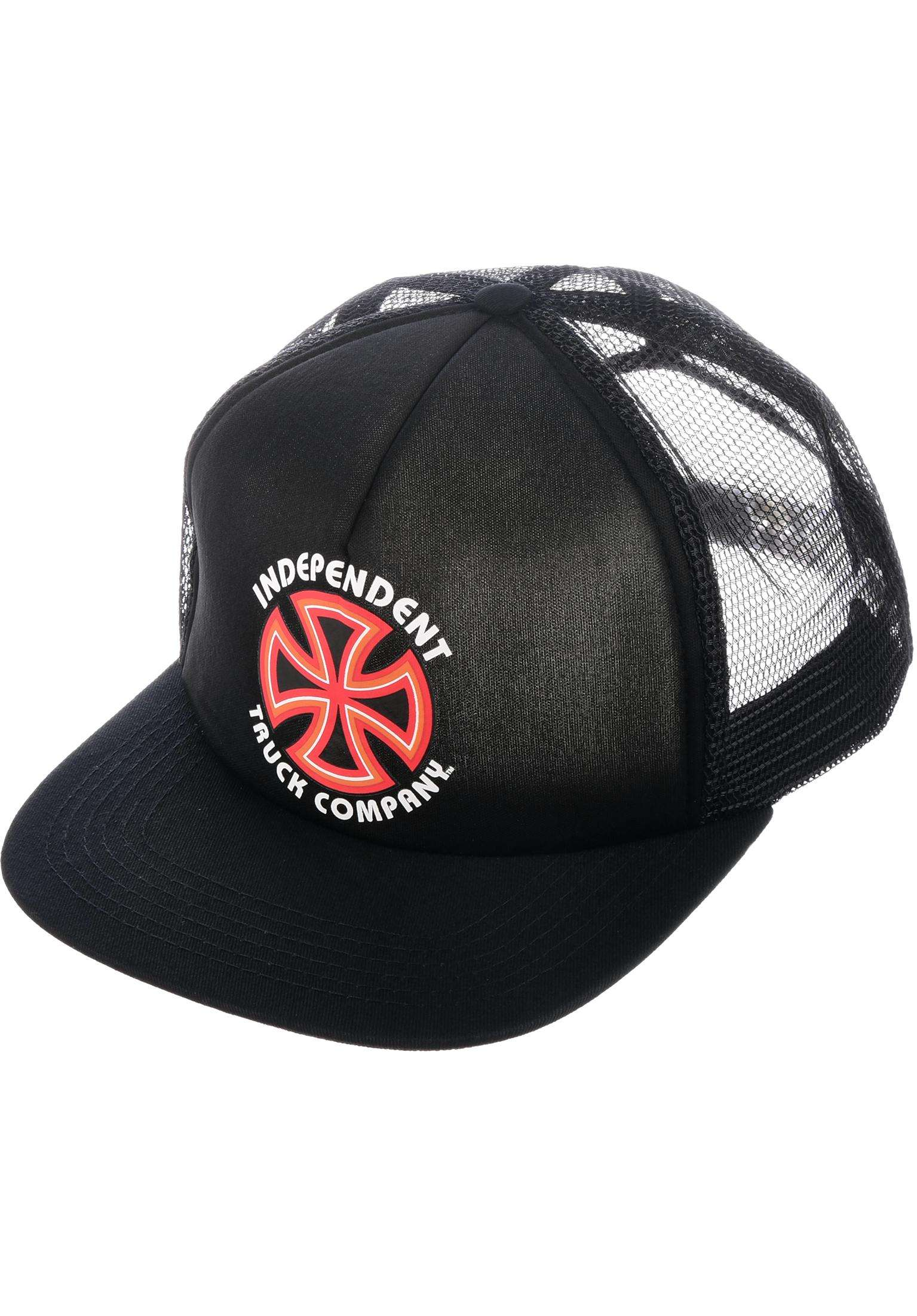 Bauhaus Mesh Independent Caps in black for Men  8579d63f6ef3