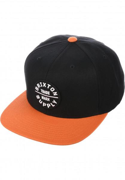 Brixton Caps Oath III blackburnt-orange Vorderansicht 9edb3ad1941