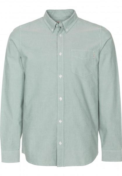 Carhartt WIP Hemden langarm Button Down Pocket softgreen Vorderansicht