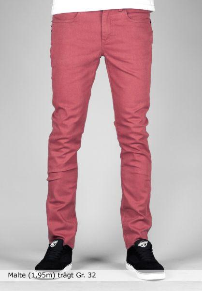KR3W Jeans K-Skinny terracotta Vorderansicht