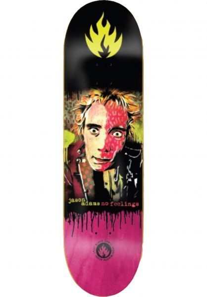Black-Label Skateboard Decks Adams No Feelings multicolored vorderansicht 0266285
