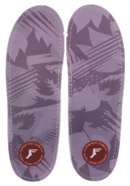 Footprint Insoles Einlegesohlen Gamechangers Camo Low lightgrey vorderansicht 0249090