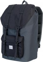 Herschel Rucksäcke Little America darkshadow-black Vorderansicht