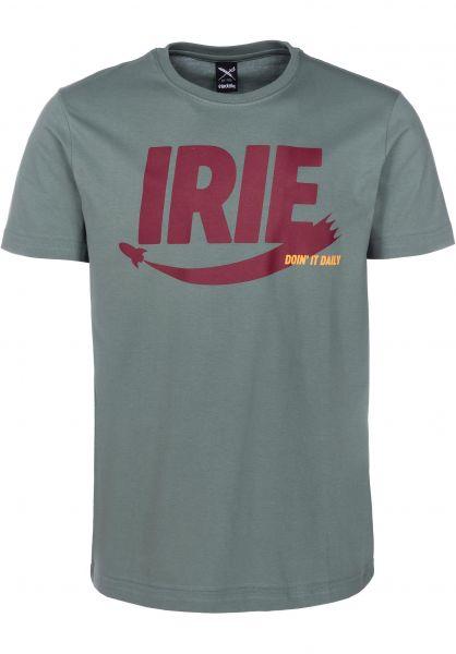 iriedaily T-Shirts Irierocket berylgrey vorderansicht 0399733