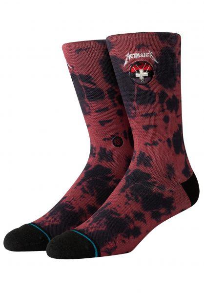 Stance Socken Master Of Puppets red vorderansicht 0631880