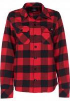 Dickies Hemden kurzarm Sacramento W red Vorderansicht