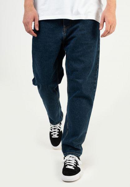 Carhartt WIP Jeans Newel Pant (Cropped) bluestonewashed vorderansicht 0227155