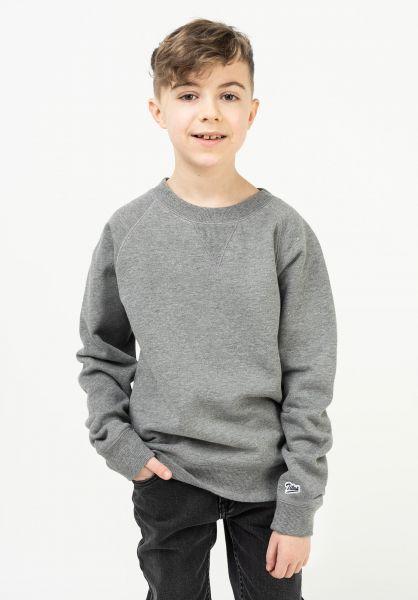 TITUS Sweatshirts und Pullover Script Crewneck Kids greymottled vorderansicht 0830000