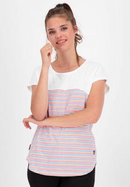 alife and kickin T-Shirts Claire white 121 vorderansicht 0320753