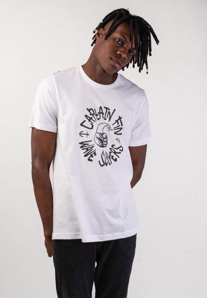Captain Fin T-Shirts Wave Slayer white vorderansicht 0320270