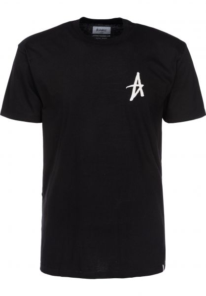 Altamont T-Shirts Mini Decade Icon black Vorderansicht