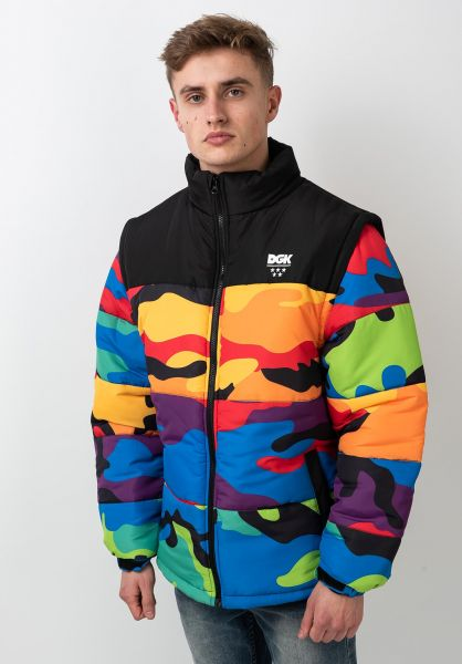 DGK Winterjacken Breeze Puff Jacket multi vorderansicht 0250174