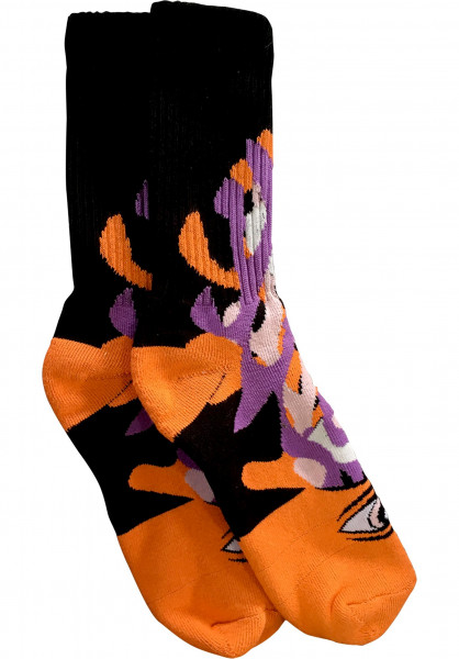 Toy-Machine Socken Barf Sect orange Vorderansicht