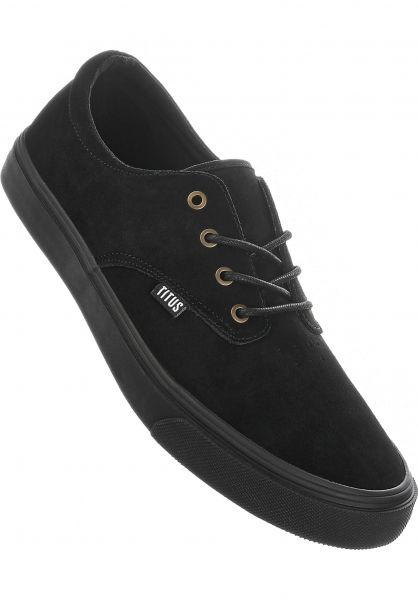 TITUS Alle Schuhe Clubman PRM black-black vorderansicht 0604302
