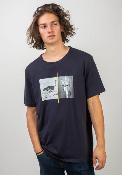 Element T-Shirts x NG Ostrich Apse eclipsenavy vorderansicht 0320719
