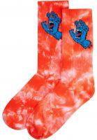 santa-cruz-socken-screaming-hand-tie-dye-red-tiedye-vorderansicht-0632234