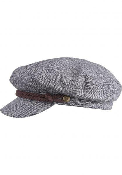 Brixton Hüte Fiddler heathergrey-cream vorderansicht 0580162