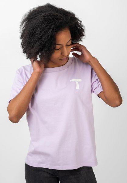 TITUS T-Shirts Coco lightlavender vorderansicht 0320810