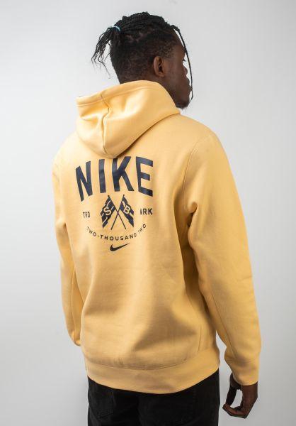 Nike SB Hoodies Hooded Top celestialgold-obsidian vorderansicht 0445562