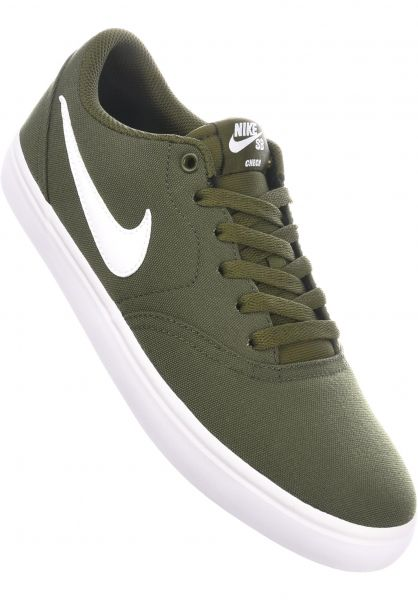 Check Solarsoft Canvas Nike Sb All Shoes In Legiongreen