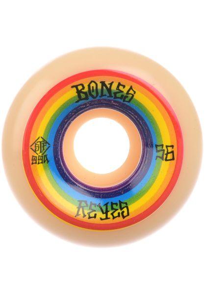 Bones Wheels Rollen STF Reyes Portal 99A V6 Widecut white vorderansicht 0134857